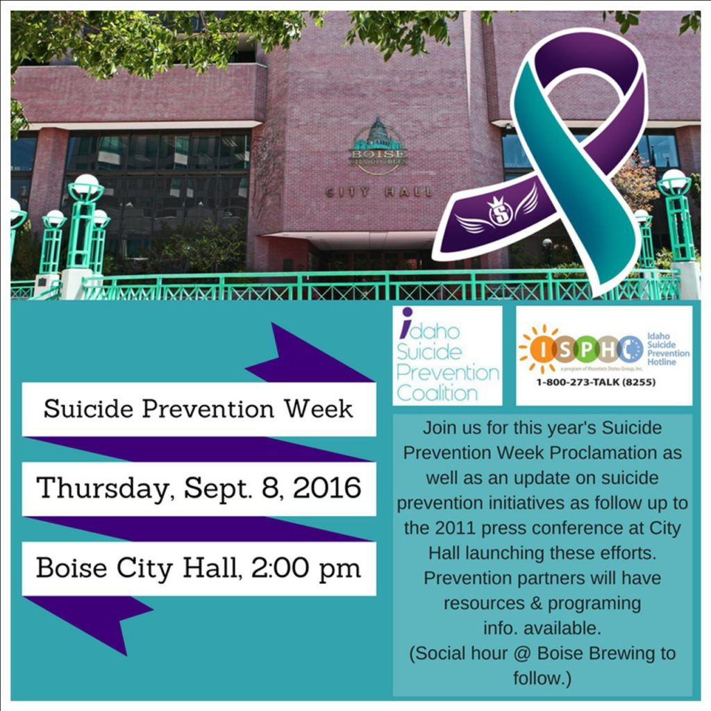 2016 Suicide Prevention Week